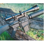 M-1200 6-24X50 LEATHERWOOD AUTO RANGING TRAJECTORY SCOPE